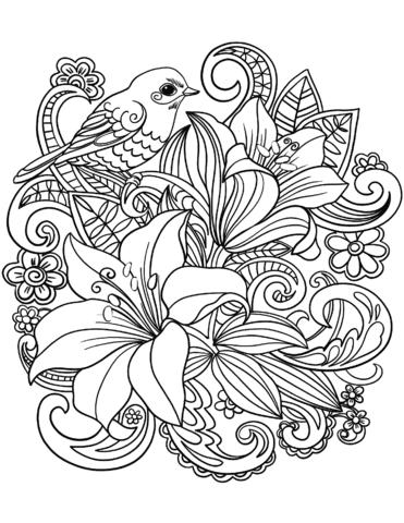 disegni a matita fiori