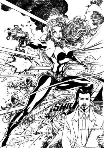 disegni a matita Iron Man