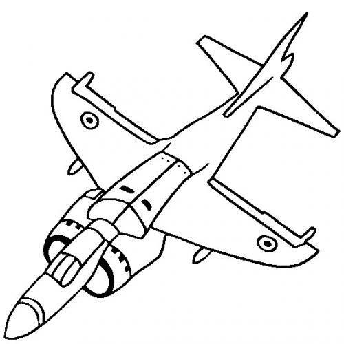 disegni aerei militari