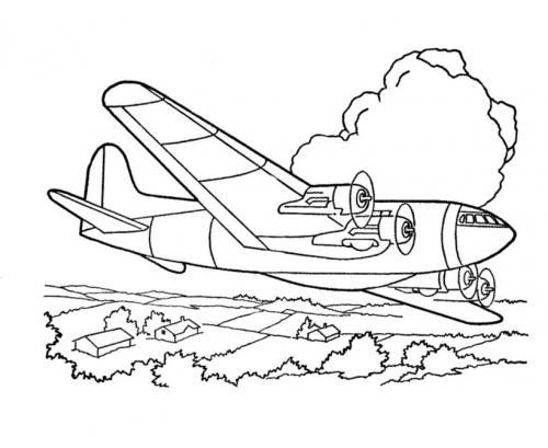 disegni aerei