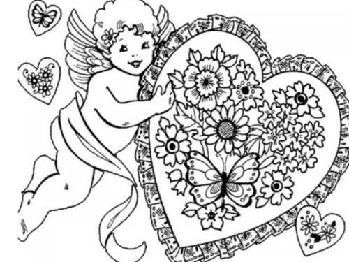 disegni amore matita
