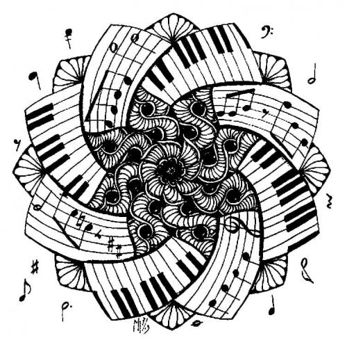 immagine artistica musica