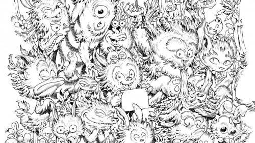 disegni mostri