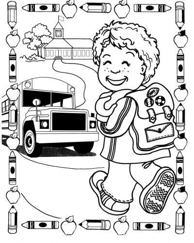 bambino che prende il bus