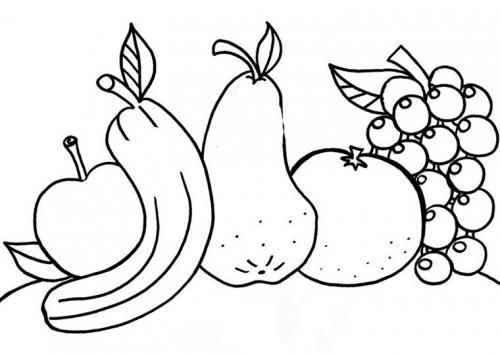 Disegni Di Frutta 144 Immagini Da Colorare E Stampare A Tutto Donna