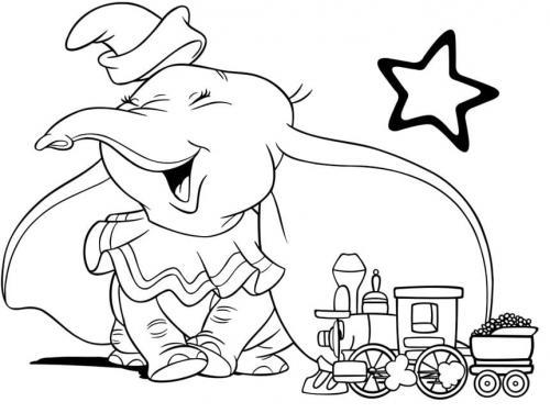disegni bellissimi Dumbo