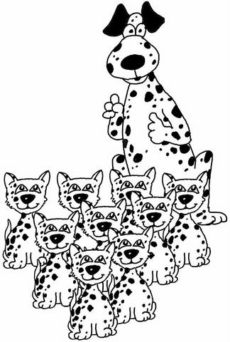 disegni cagnolini