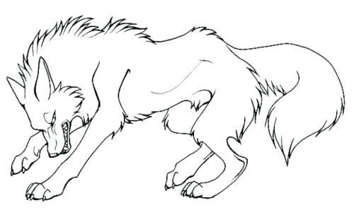 disegni cane lupo