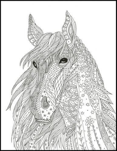 disegni cavalli stilizzati