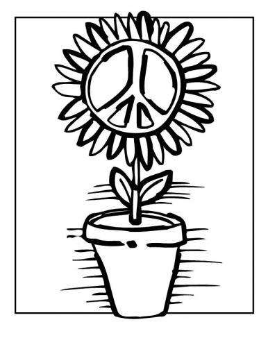 girasole della pace