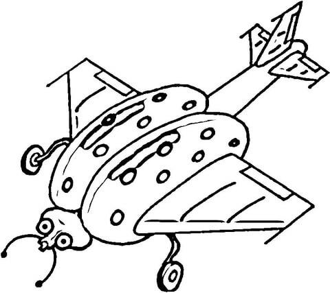 disegni coccinelle