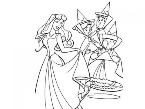Aurora e le tre fatine