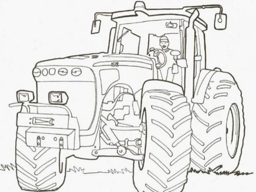 Disegno Trattore Da Colorare.Immagini Di Trattori Da Colorare 76 Disegni Di Trattori In Cartoni Animati Sagome E Modelli Speciali A Tutto Donna