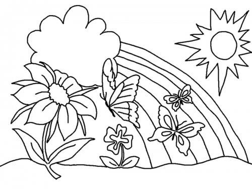 disegni con fiori