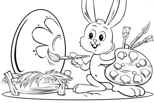 disegni coniglietto