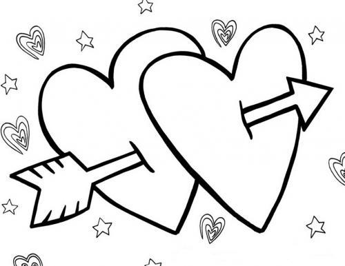 disegni cuore san valentino
