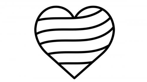 disegni cuore