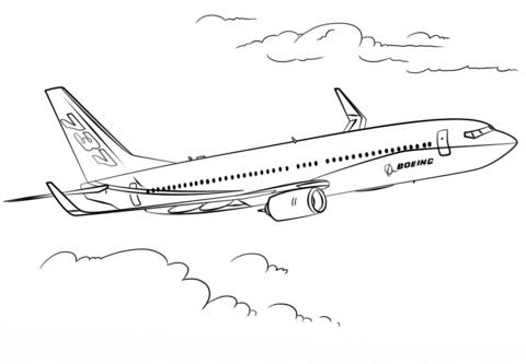 disegni da colorare aerei