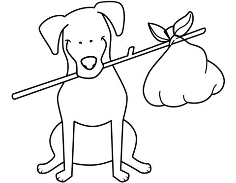 disegni da colorare cani