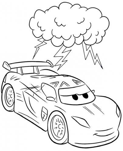 disegni da colorare cars