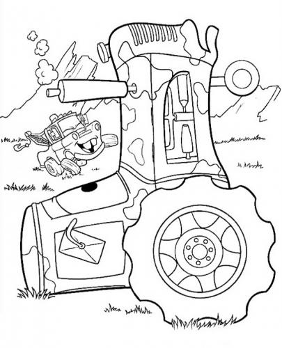 disegni da colorare cars 2