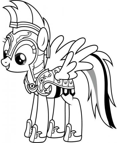 Disegni da colorare dei My Little Pony