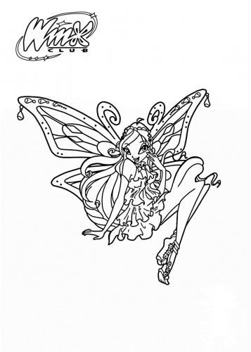 disegni da colorare delle winx