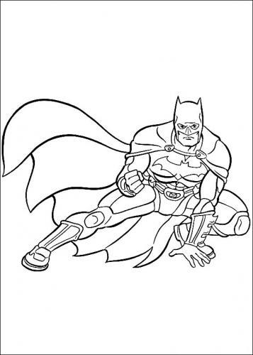 disegni da colorare di batman