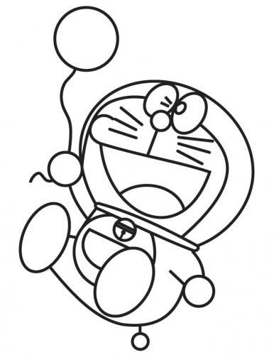 Disegni da colorare di Doraemon