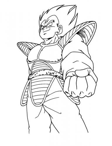 disegni da colorare di Dragon Ball Gt