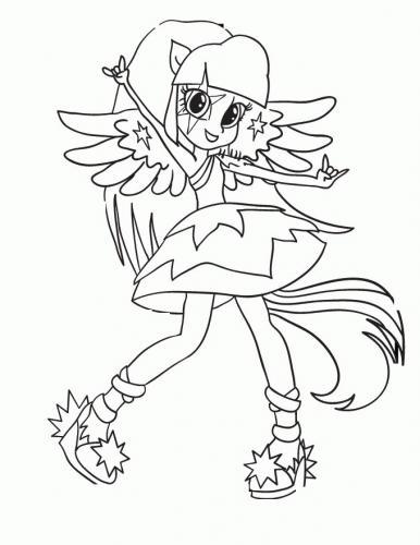 Disegni da colorare di My Little Pony