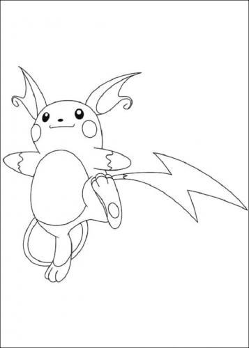 disegni da colorare di Pokémon