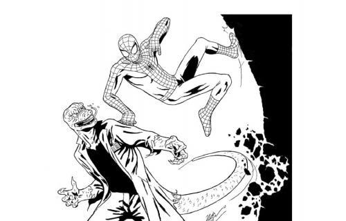 disegni da colorare di spiderman