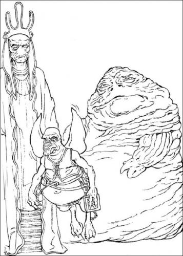 Disegni da colorare di Star Wars