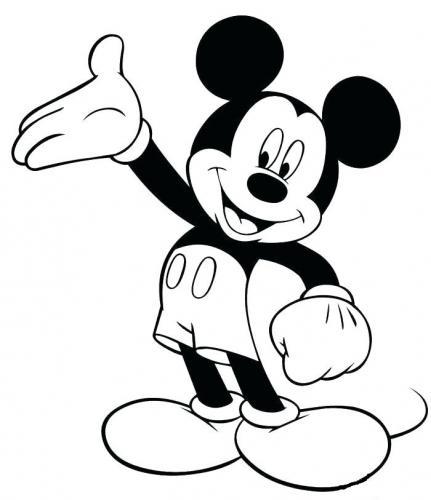 disegni da colorare di topolino