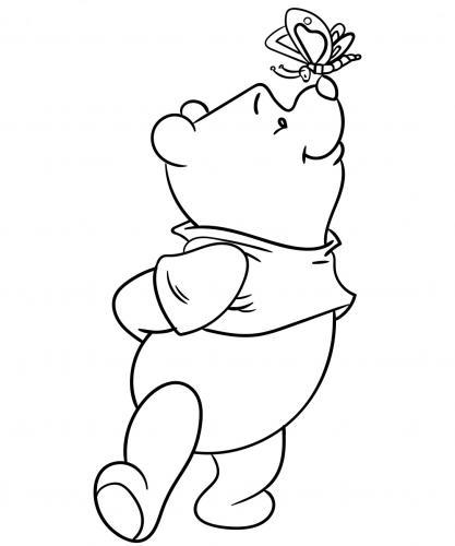 disegni da colorare di winnie the pooh