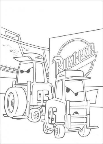 disegni da colorare Disney Cars
