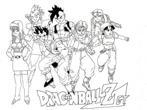 disegni da colorare Dragon Ball Z