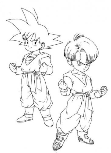 disegni da colorare Dragon Ball
