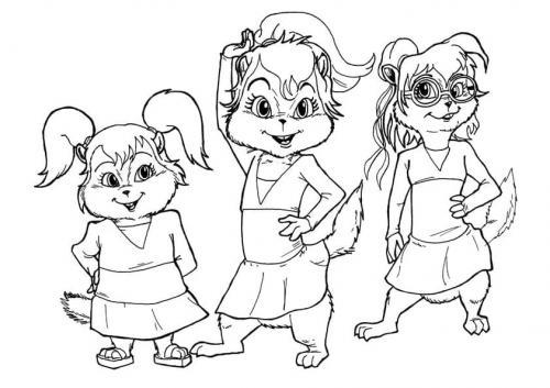 disegni da colorare e stampare Alvin Superstar