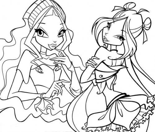 Flora e Aisha