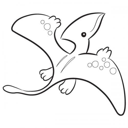 disegni da colorare e stampare dinosauri