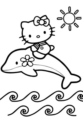disegni da colorare e stampare hello kitty