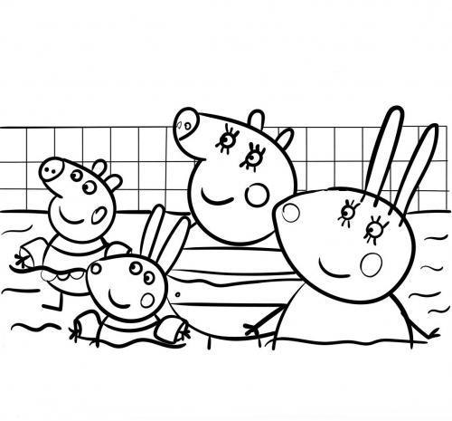 Disegni Da Colorare Di Peppa Pig Da Stampare.Peppa Pig 72 Disegni Da Stampare E Colorare A Tutto Donna