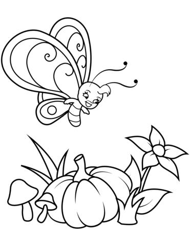 disegni da colorare farfalle