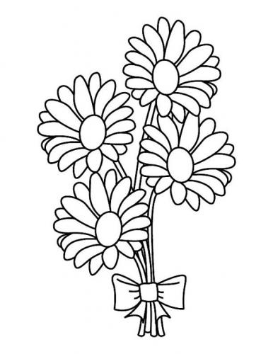 disegni da colorare fiori