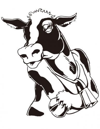 mucca spiritosa