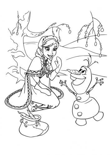 Anna incontra Olaf