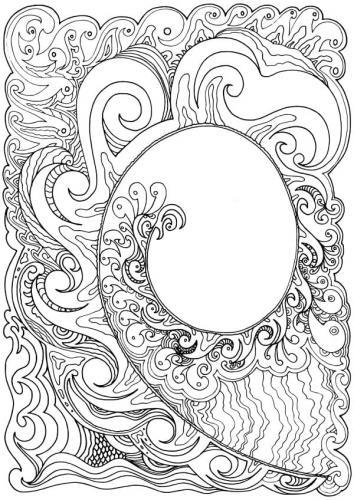 disegni onde del mare