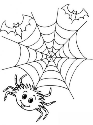 ragnatela di Halloween
